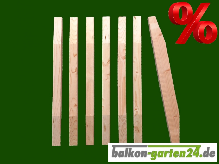 Balkonbrett Douglasie Laerche Holz Denver Holzbalkon Balkongelaender