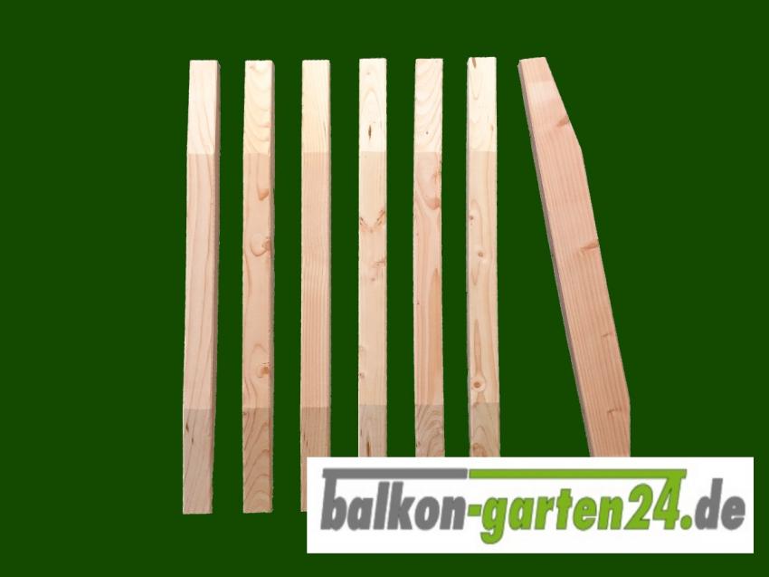 Balkonbretter Denver Douglasie Lärche für Balkongeländer aus Holz