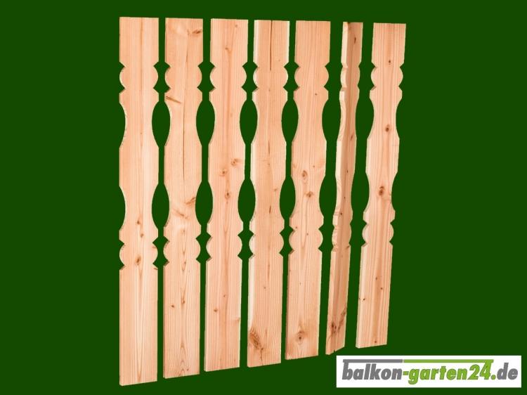 Balkonbretter Berchtesgaden DL Douglasie Lärche für Balkongeländer aus Holz