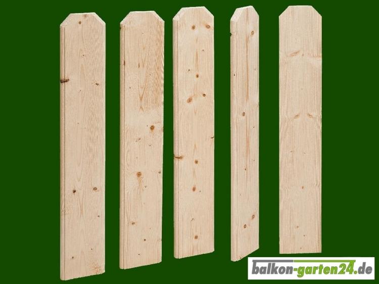 Balkonbretter Frankfurt nord. Fichte für Balkongeländer aus Holz