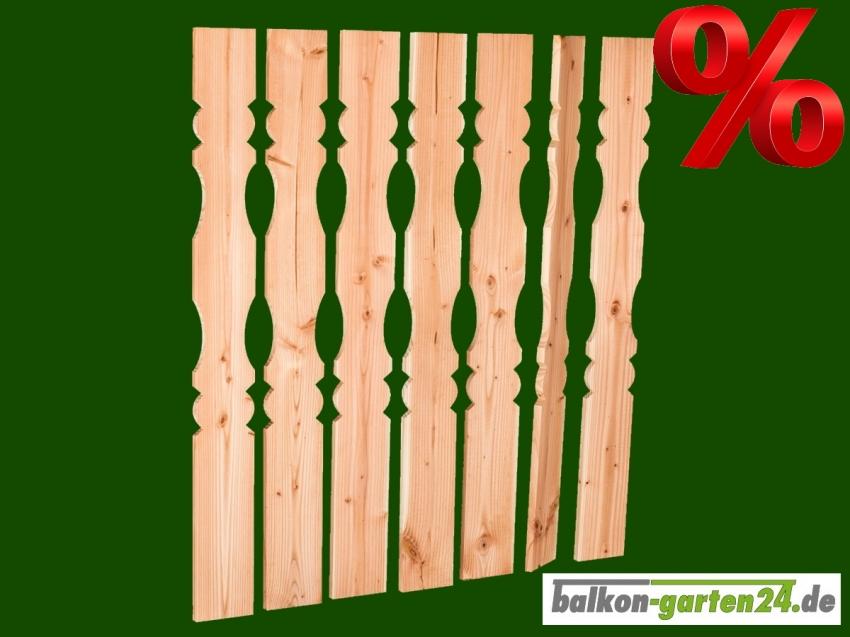 Balkonbretter Berchtesgaden DL B Douglasie Laerche Fichte Balkonbrett Holzbalkon Balkongelaender Holz