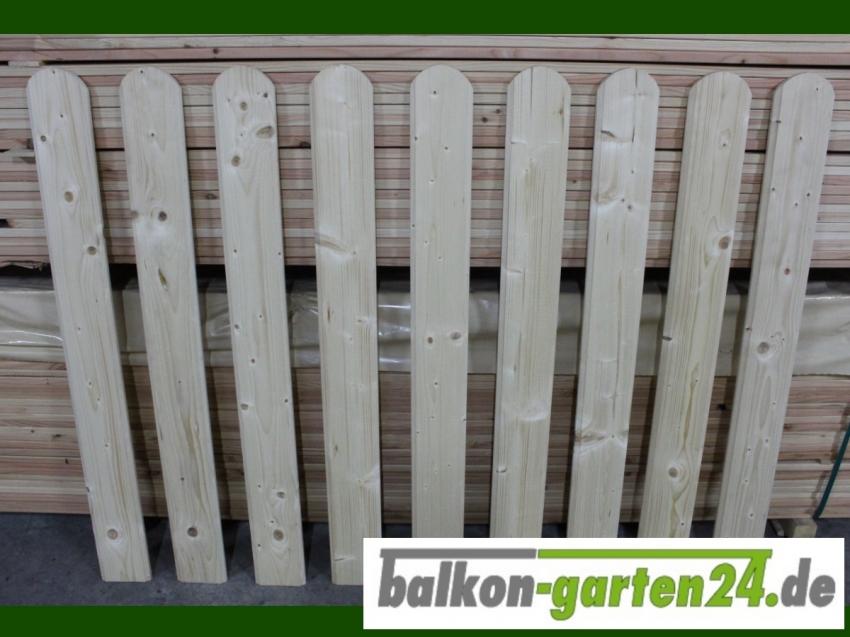 Balkonbretter Bonn nord. Fichte für Balkongeländer aus Holz