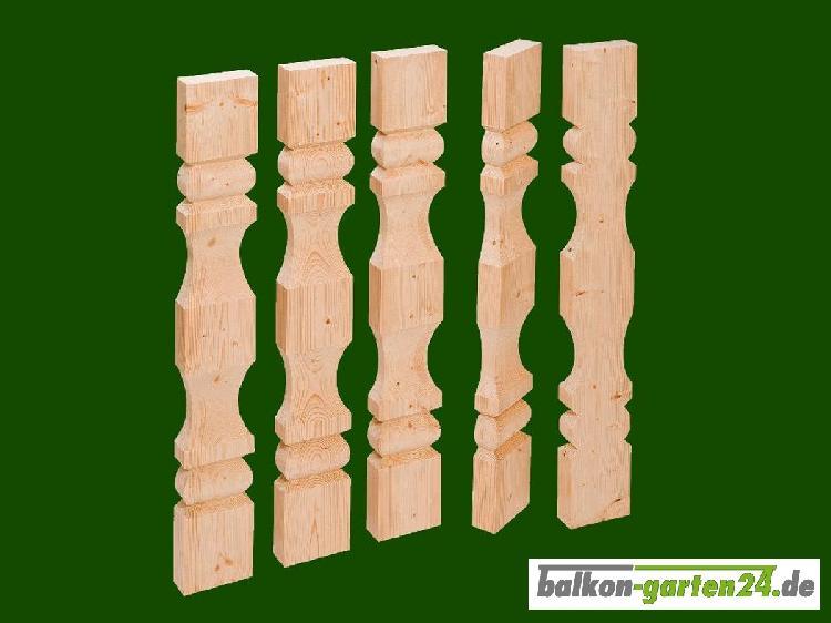 Balkonbretter Kufstein nord. Fichte für Balkongeländer aus Holz