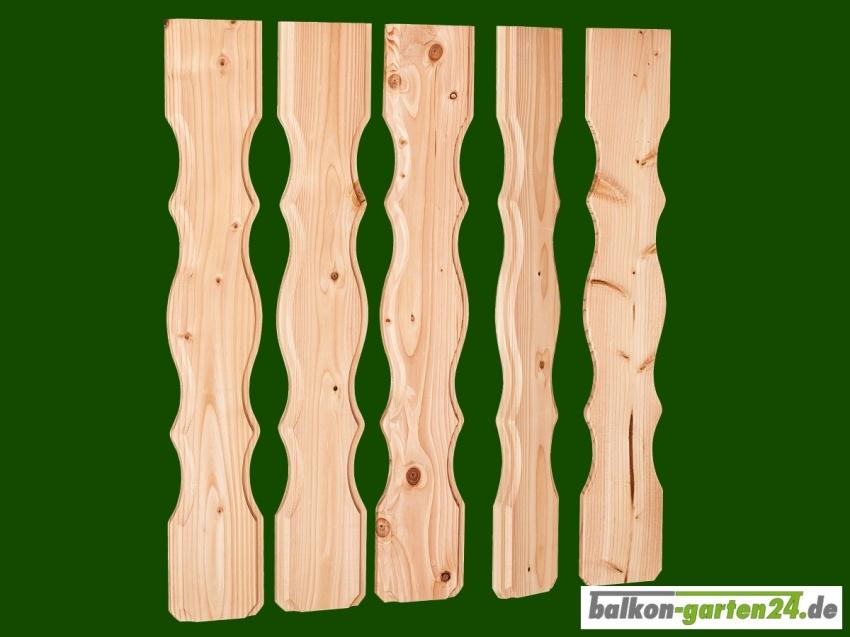 Balkonbretter Lindau Douglasie Lärche für Balkongeländer aus Holz
