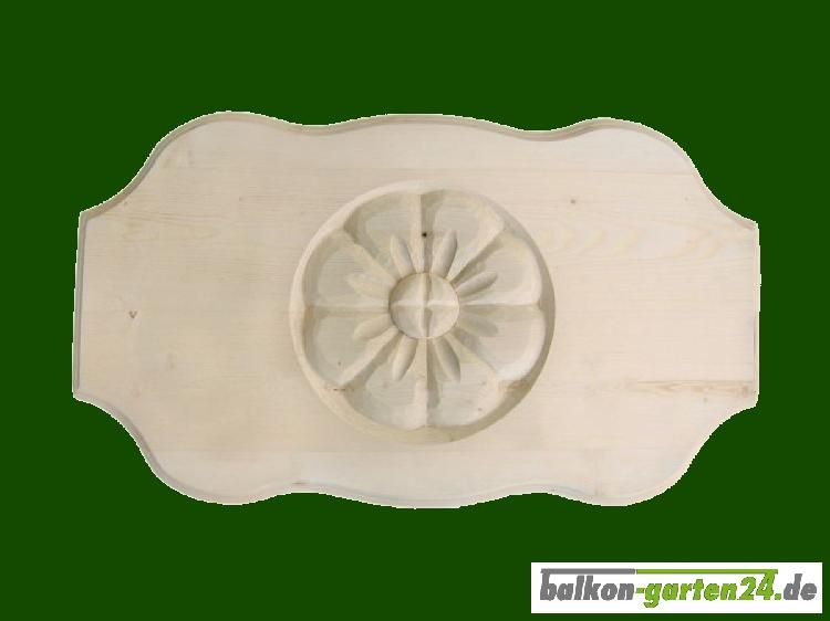 Balkonbretter Ornament Fichte Lärche Balkonbrett Holzbalkon Balkongeländer