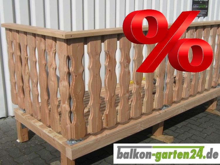 Balkongelaender Holz Douglasie Laerche Lindau  B