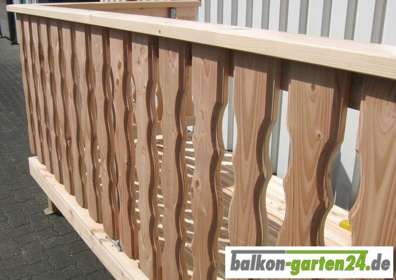 Holzbalkon Lindau 1 Von Balkon Garten24 De