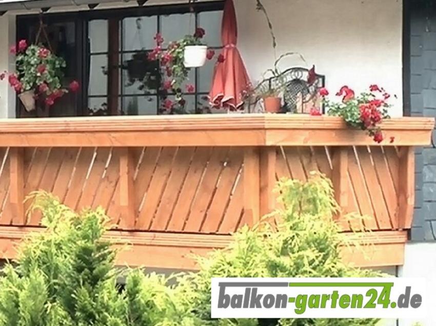 Balkongeländer Holz Douglasie Lärche Göttingen