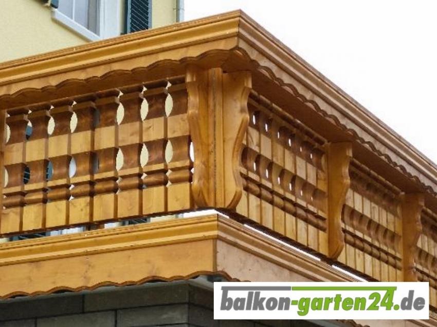 Balkongeländer Holz nord. Fichte Kufstein
