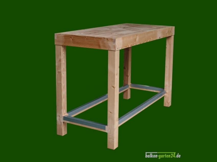 Garnitur Sitzmöbel Happyhour Tisch Douglasie Lärche Balkonbretter Holzbalkon