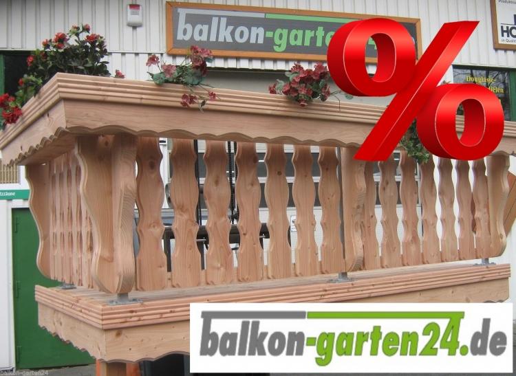 Holzbalkon Balkongelaender Holz LindauB Balkonbretter Douglasie Laerche
