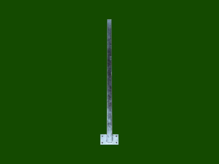 Metallstütze Balkonsteher Balkonstütze Platte seitlich