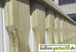 Holzbalkon Balkongelaender Holz Fichte Lindau F Balkonbretter