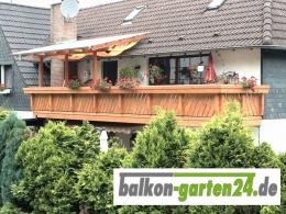 Balkongelaender Holzbalkon Laerche Douglasie Göttingen