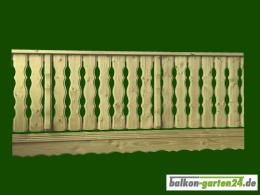 Balkonbretter Holz Laerche Fichte Balkongeländer Holzbalkon Lindau F Balkonbrett0