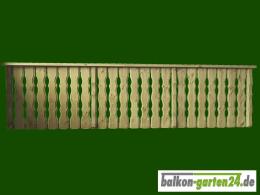 Balkongelaender Holzbalkon Holz Fichte Laerche Lindau K F