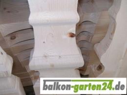 Balkonbrett Salzburg B Holz Fichte Laerche Holzbalkon Balkongelaender