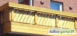 Balkonbretter Canada Fichte Lärche B Sorte Balkonbrett Holzbalkon Balkongeländer Holz02