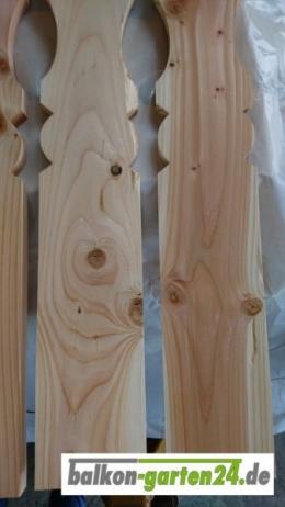 Balkonbretter Berchtesgaden Douglasie Lärche Holzbalkon Balkongeländer B