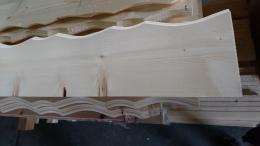 Profilblende Zierblende Fichte Laerche Holzbalkon Balkongelaender B Sorte