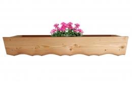 Blumenkasten Douglasie Laerche Einzelteile Zubehoer Holzbalkon Balkongelaender Pflanzkasten Holz