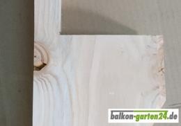 Konsole Douglasie Lärche Balkonbretter Balkongeländer Blumenkasten Holzbalkon Zierpfosten B