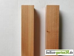 Balkonstab Balkongeländer Holz Holzbalkon Geländerstab