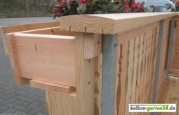 blumenkasten konsole douglasie von balkon. Black Bedroom Furniture Sets. Home Design Ideas