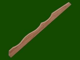 Konsole Zwischenholz Douglasie Laerche Ersatzteil Holzbalkon Balkongelaender Holz