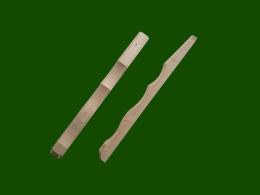 Konsole Zwischenholz Fichte Laerche Einzelteile Holzbalkon Balkongelaender Holz Zierpfosten