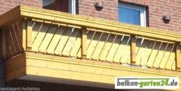 Balkonbretter Canada Fichte Lärche Balkonbrett Holzbalkon Balkongeländer0
