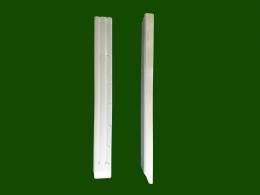 Zwischenholz Konsole geriffelt Einzelteile Fichte Laerche Holz Holzbalkon Balkongelaender Zierpfosten