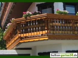 Zopfkonsole Balkonbretter Holzbalkon Balkongeländer Fichte Lärche Holz Zwischenholz
