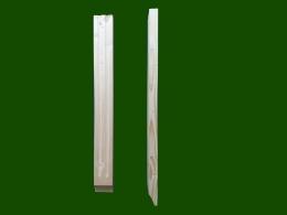 Zwischenholz Konsole geriffelt Einzelteile Douglasie Laerche Holz Holzbalkon Balkongelaender