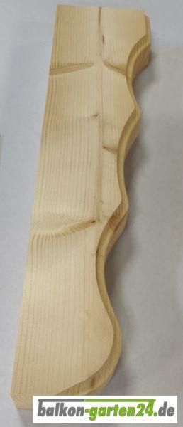 Blumenkasten Konsole Holz Balkongeländer geschwungen Fichte Lärche