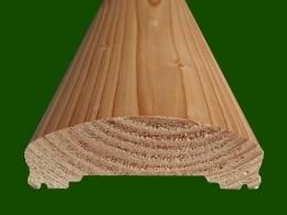 Handlauf Nut Douglasie Laerche Ersatzteil Holzbalkon Balkongelaender Holz