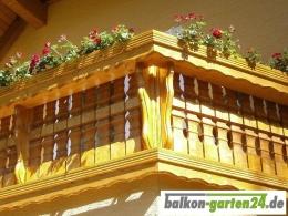 Profilblende Zierblende Fichte Lärche Balkonbretter Balkonbrett Holzbalkon Balkongeländer