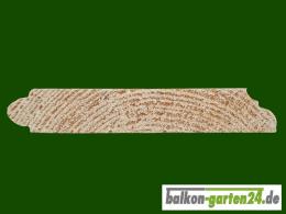 Profilblende Zierblende Zierleiste Profilleiste Fichte Holzbalkon4er