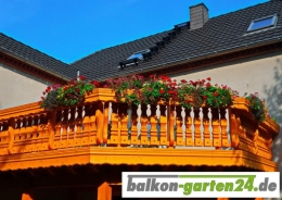 Balkongeländer Holzbalkon Fichte Lärche Kufstein