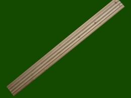 Londonleiste Londonblende Fichte Laerche Zierleiste Profilleiste Einzelteile Holzbalkon Balkongelaender Holz