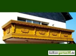 Balkonbretter Ornament Fichte Lärche Balkonbrett Holzbalkon Balkongeländer holz2