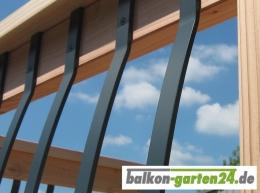 Balkonprofil Aluminium