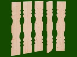 Balkonbrett Holz Fichte Laerche Berchtesgaden