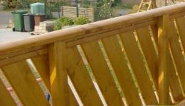 Balkonbretter Balkongeländer Fichte Lärche Canada