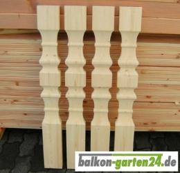 Balkonbretter Salzburg L nord. Fichte für Holzbalkone