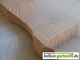 Balkonbretter Kufstein DL Douglasie Lärche für Holzbalkon