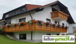 Balkonbretter Lindau DL Douglasie Lärche für Holzbalkone