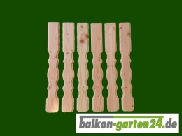 Balkonbretter Lindau DL Douglasie Lärche für Balkongeländer aus Holz