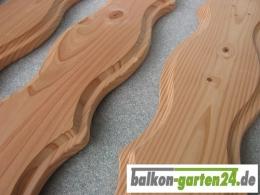 Balkonbretter Lindau Douglasie Laerche für Balkongelaender aus Holz