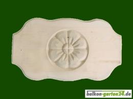 Ornament für Holzbalkon